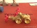 Female thread bronze gate valve