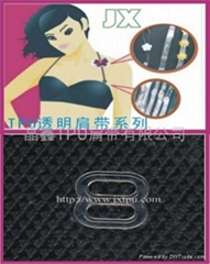 Bra buckle,Transparent Button,Plastic buckle