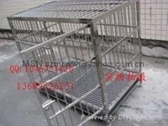 不锈钢狗笼子83*60*80cm广东省内免运费