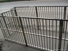 Stainless steel dog railing, pet railing