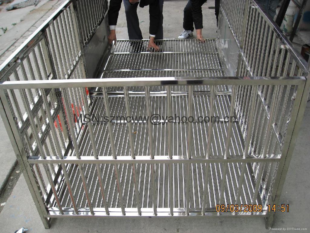 不锈钢宠物围栏宽120*高100CM*6片 4