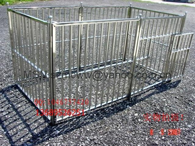 不锈钢宠物围栏宽120*高100CM*6片 5