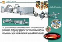 魚蝦飼料生產線