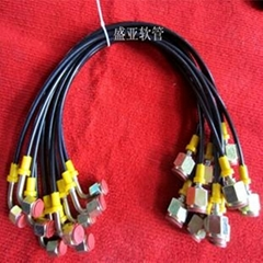 供应HF系列测压软管总成 扣压各种形式接头