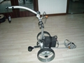 Remote electric golf trolley