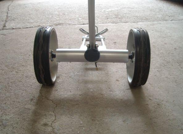 Tubular motors golf trolley 2