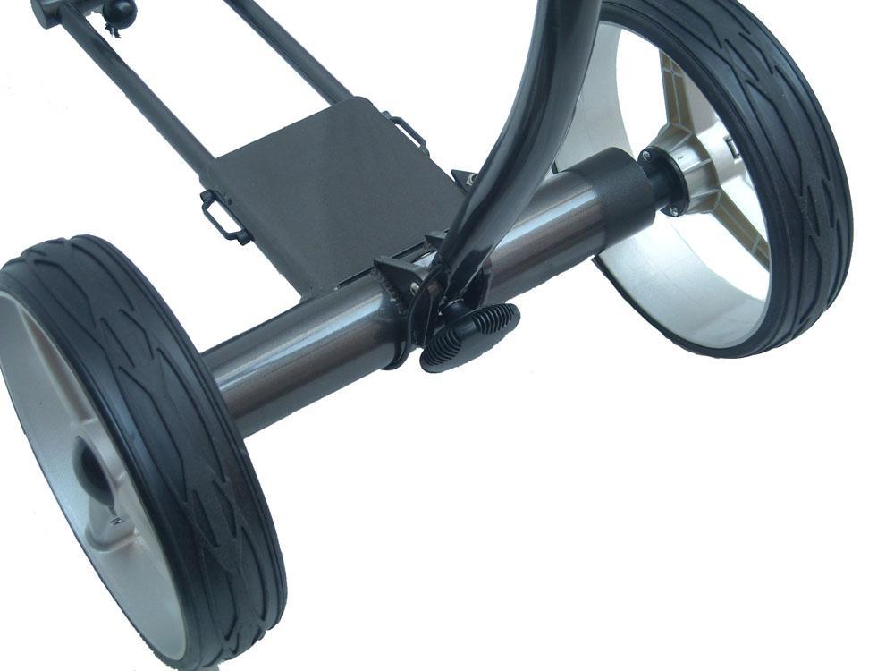 Tubular motors golf trolley 3