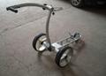 Tubular motors golf trolley 4