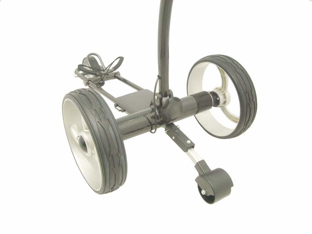 Tubular motors golf trolley 5