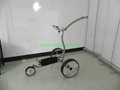 009 electric stainless steel golf trolley