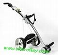 106E shark golf trolley