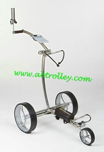 Stainless steel remote golf trolley, remote control golf trolley 1