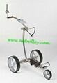 Stainless steel remote golf trolley,