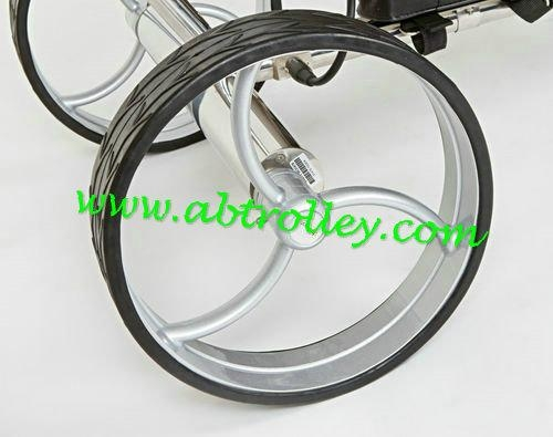Stainless steel remote golf trolley, remote control golf trolley 12