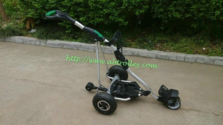 Unique Electric remote control golf trolley with 150 meters remote distance 1