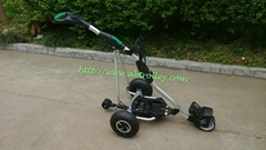 Unique Electric remote control golf trolley with 150 meters remote distance
