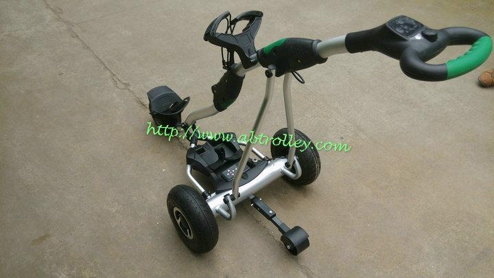 New Electric remote control golf trolley with 150 meters remote distance 1