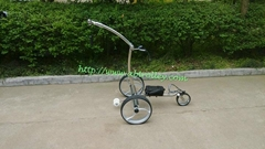 2018 High Grade Stainless steel Golf Trolley with double linix motors