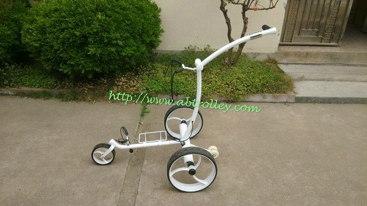 New Noble Stainless Steel Golf Trolley With Double Linix Motors 007r Abtrolley China