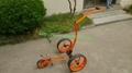 Elegant push golf buggy with hottest golf trolley wheel
