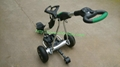 Newest Remote Control Electric Golf Trolley with pneumatic tire air tire 3