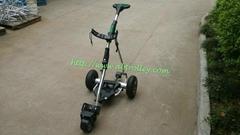 Air tire Golf Trolley 2014 Newest Remote