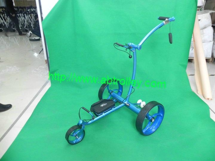 2019 Wireless Remote Controlled stainless steel Golf Trolley 1