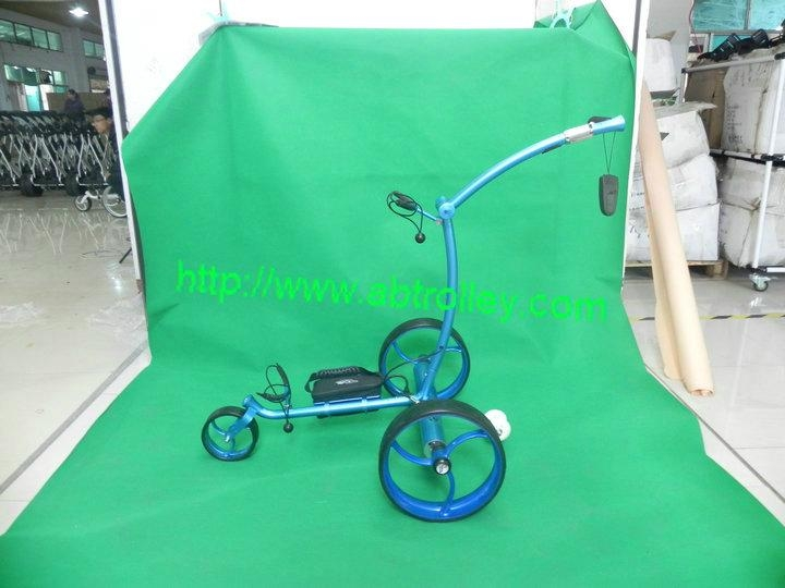 Patented Wireless Remote Controlled stainless steel Golf Trolley, TOP SALES 1