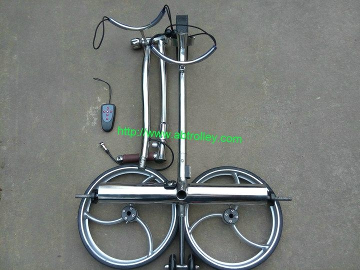 Wireless Remote Control stainless steel Golf Trolley 5