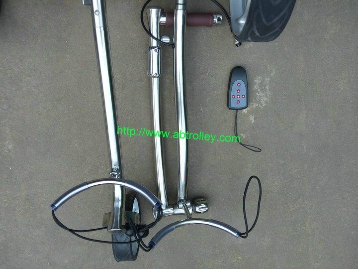 Wireless Remote Control stainless steel Golf Trolley 6