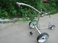 Wireless Remote Control stainless steel Golf Trolley 11