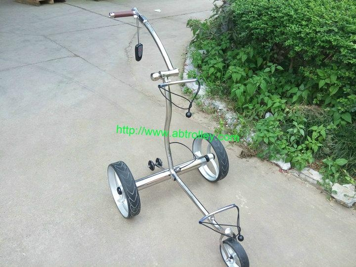 Wireless Remote Control stainless steel Golf Trolley easy control golf trolley 15