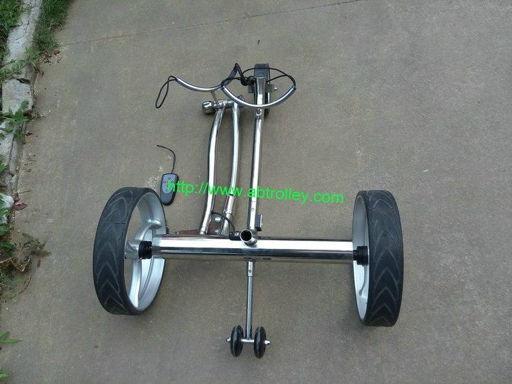 Wireless Remote Control stainless steel Golf Trolley 14