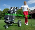 Stainless steel remote golf trolley, remote control golf trolley 13