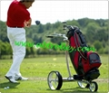 Stainless steel remote golf trolley, remote control golf trolley 15