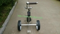 Stainless steel remote golf trolley, remote control golf trolley 5