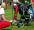 Stainless steel remote golf trolley, remote control golf trolley 14
