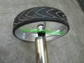 Patented finest light stainless steel electric golf trolley 12