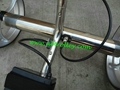 Patented finest light stainless steel electric golf trolley 13