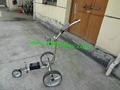 Patented finest light stainless steel electric golf trolley 3