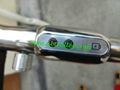 Patented finest light stainless steel electric golf trolley 18