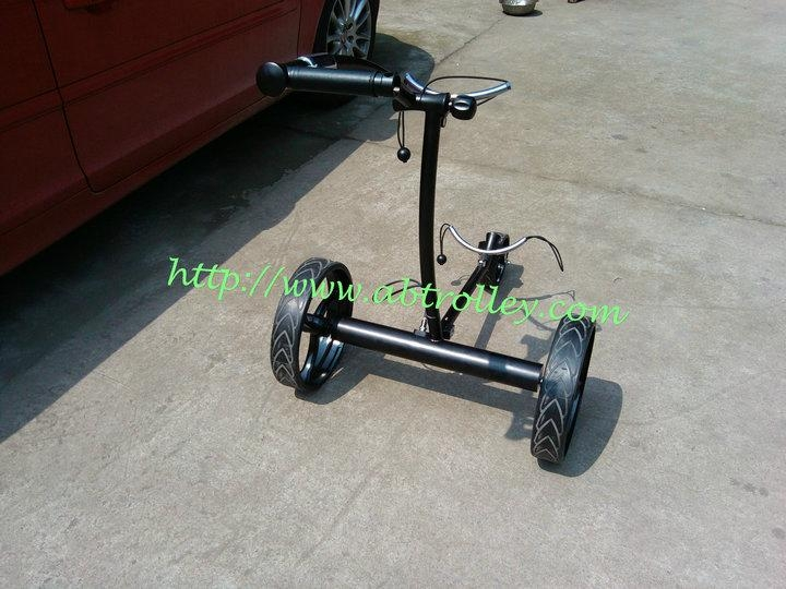 Patented finest light stainless steel electric golf trolley 10