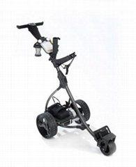LCD golf trolley
