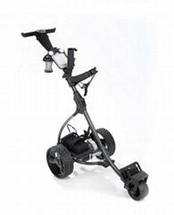 LCD golf trolley