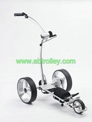 Electric golf trolley, b