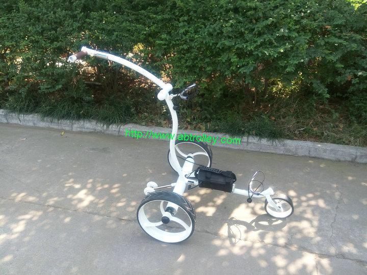 Wireless Remote Control stainless steel Golf Trolley easy control golf trolley 2