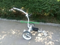 High Grade Stainless steel Golf Trolley with double 400W motors