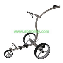 2019 High Grade Stainless steel Golf Trolley with double 400W motors