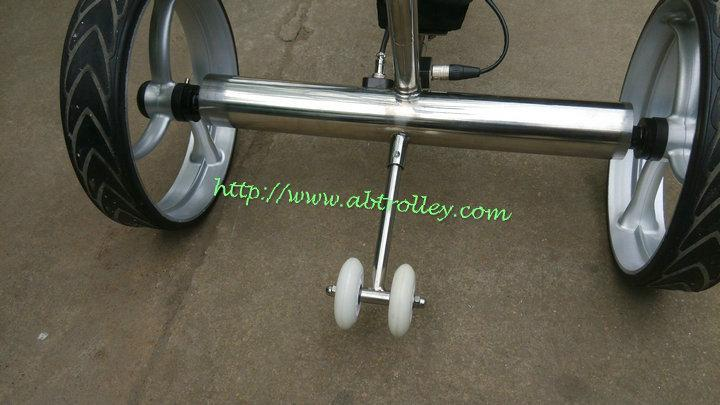 Patented Wireless Remote Controlled stainless steel Golf Trolley, TOP SALES 7