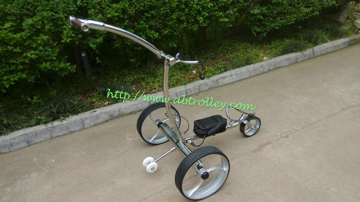 Patented Wireless Remote Controlled stainless steel Golf Trolley, TOP SALES 8